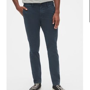 Vintage Khakis in Skinny Fit with GapFlex (Navy)